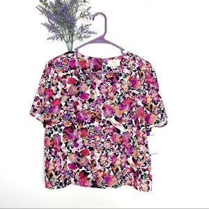 NEW Pink Collective Concepts Floral Blouse Large
